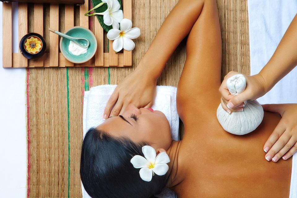Herbálna masáž