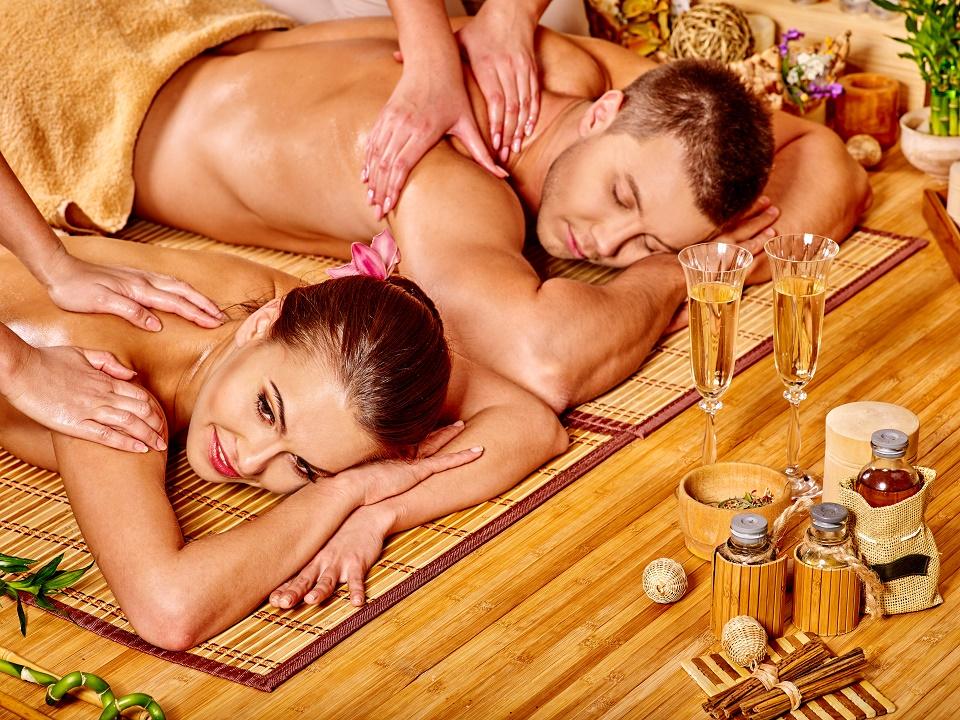 Romantická masáž pre dvojice
